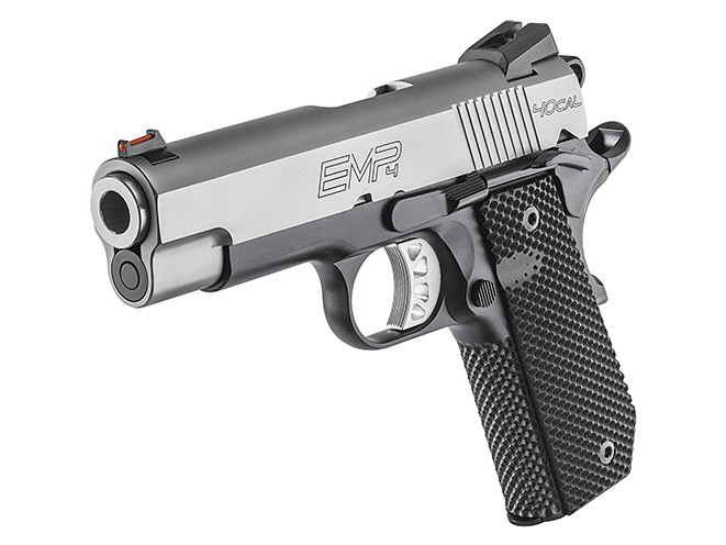Springfield EMP 4-inch Concealed Carry Contour pistol left angle