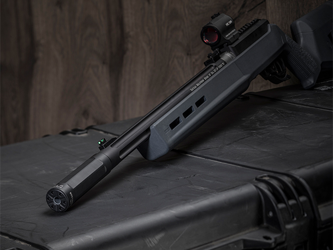 SureFire Ryder 22-Mini suppressor left angle
