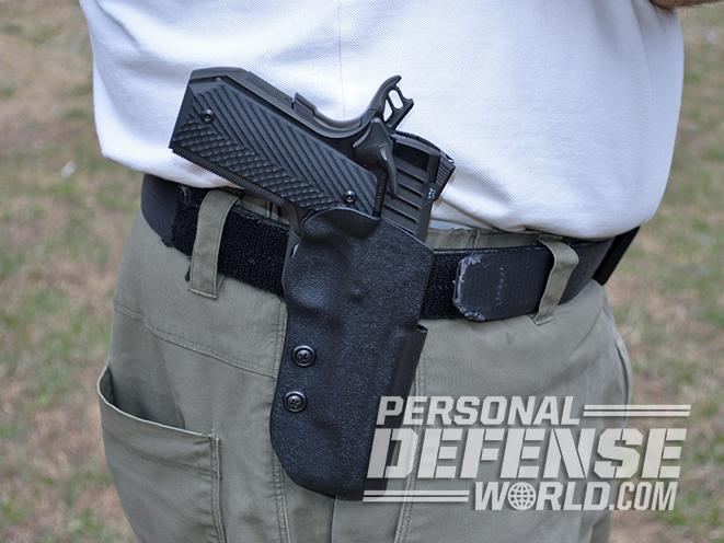 Tommy Guns USA Commander .357 SIG 1911 handgun holster