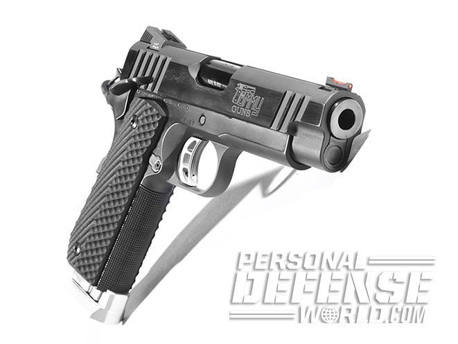 Tommy Guns USA Commander .357 SIG 1911 handgun angle