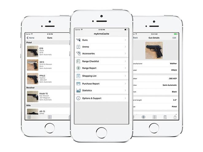 myArmsCache iphone version