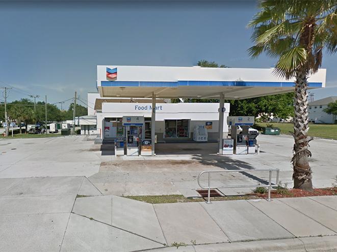 Florida Convenience Store Chevron Gas Station