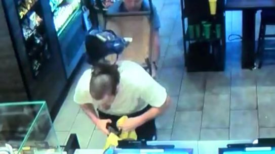 Fresno Starbucks Armed Robbery Good Samaritan