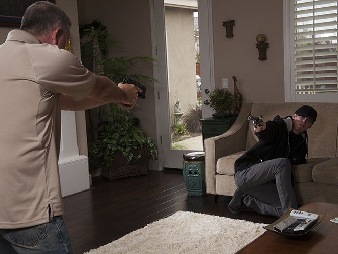 Stand Your Ground law home defense draw