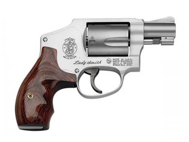 Best Handguns For Women Smith & Wesson Model 642 LS Ladysmith .38