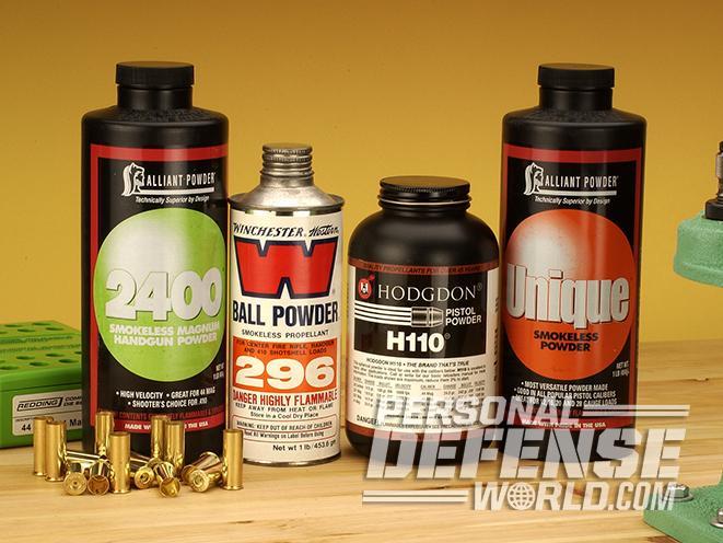 .44 Magnum powders