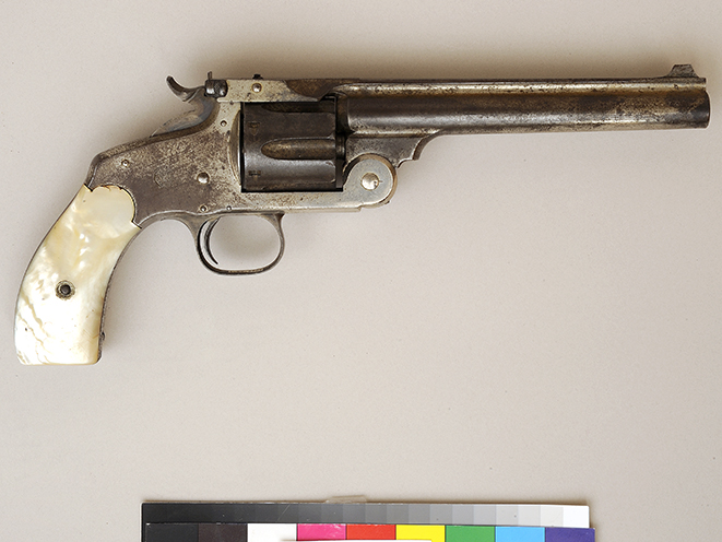 Annie Oakley's Smith & Wesson No. 3 old west revolvers