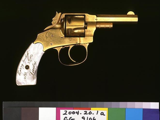 Cassie Waters' Hopkins & Allen XL3 old west revolvers