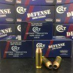 Colt Defense new ammo
