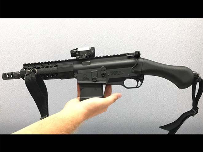 Fightlite Raider pistol with magazine