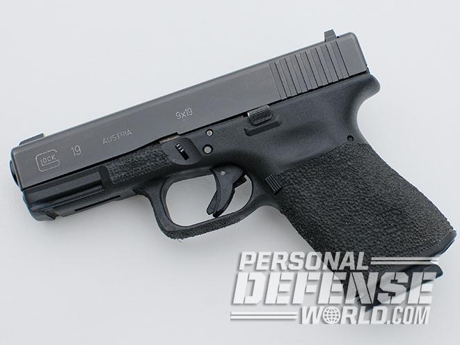 glock 19 edc pistol left profile