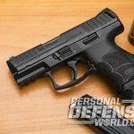 Heckler & Koch VP9SK pistol on table
