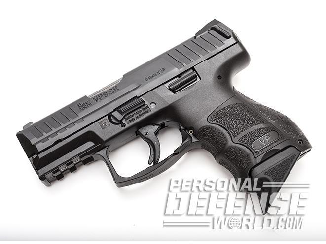 Heckler & Koch VP9SK pistol left profile