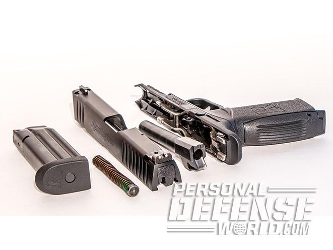 Remington RP9 PISTOL field stripped