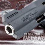 Ruger LCRx revolver front sight angle
