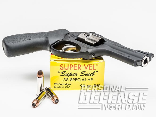 Ruger LCRx revolver super vel ammo