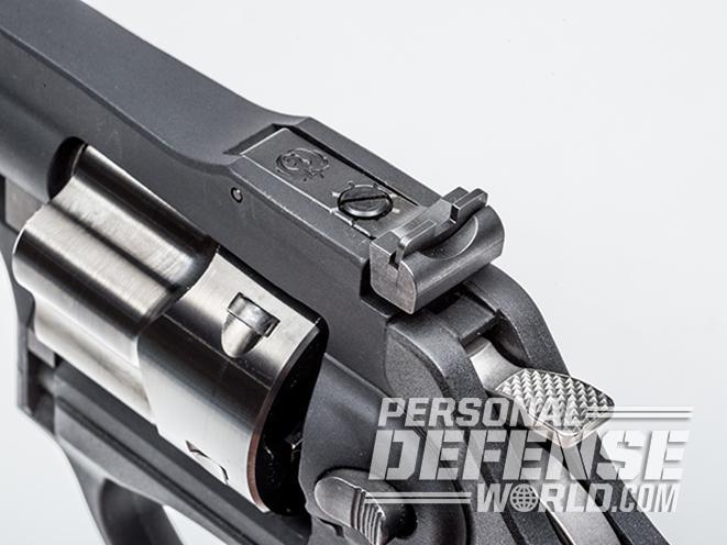 Ruger LCRx revolver rear sight