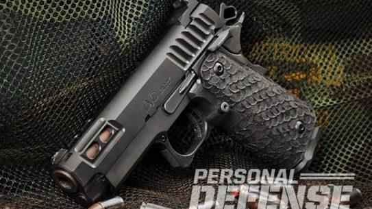 STI DVC Carry pistol left profile
