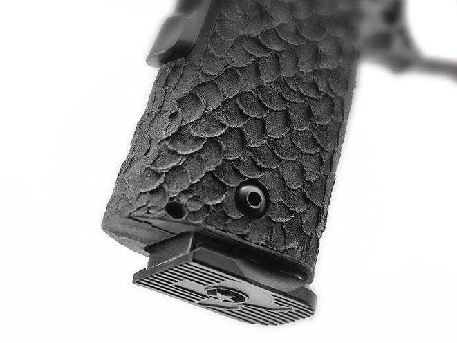 STI DVC Carry pistol mag plate