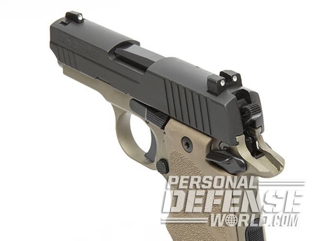 Sig Sauer P938 Combat pistol slide