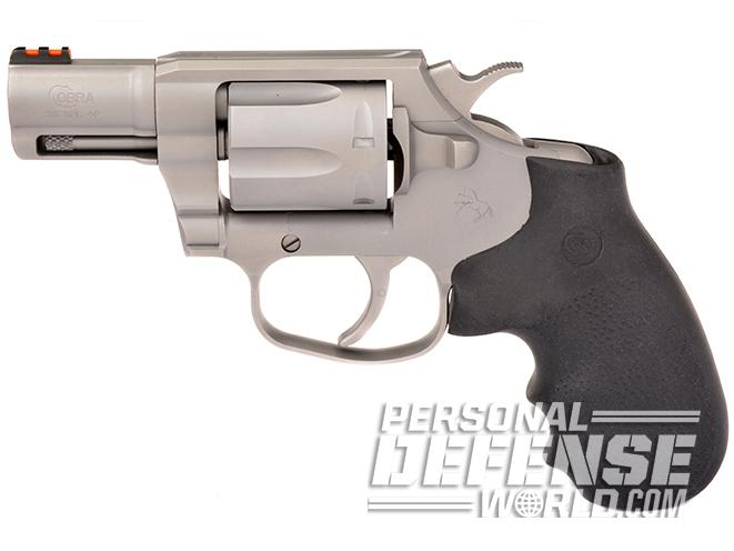 new colt cobra revolver left profile