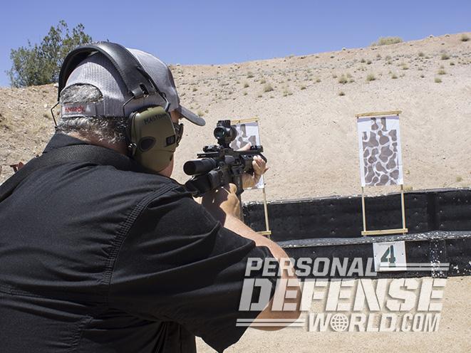 Troy P7A1 pistol target