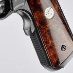 Wilson Combat CQB Elite pistol desert wood grip