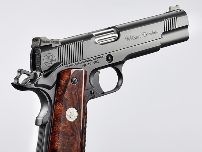 Wilson Combat CQB Elite pistol right rear angle
