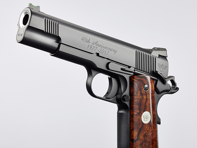 Wilson Combat CQB Elite pistol left front angle