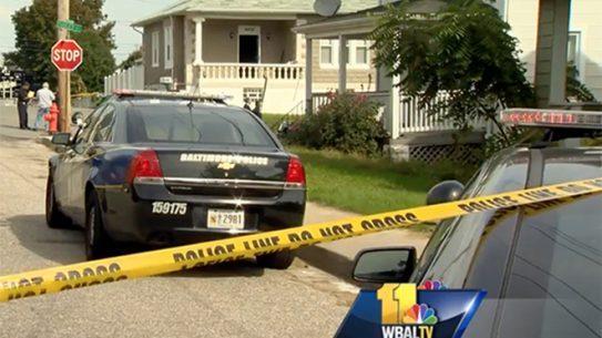 baltimore police shooting