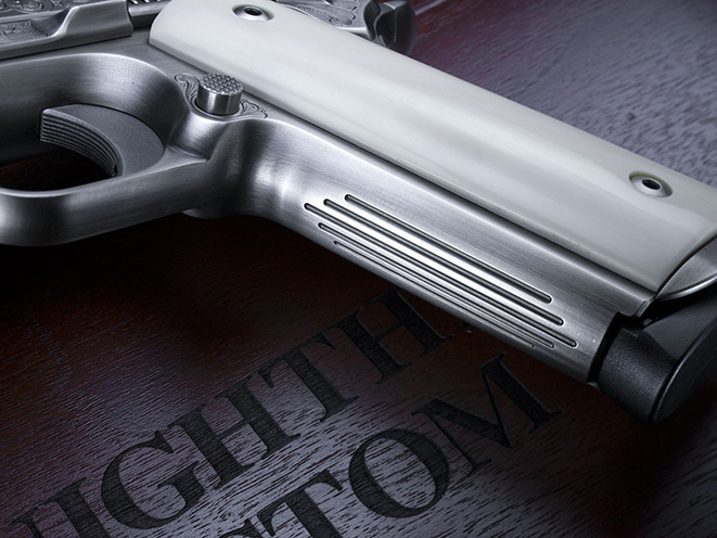 Nighthawk VIP Pistol Gun of the Month October grip