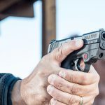Smith & Wesson M&P Shield M2.0 Pistol athlon outdoors rendezvous Crimson Trace aim