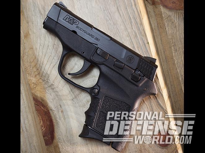 S&W M&P Bodyguard 380 pistols profile