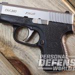 Kahr CW380 380 pistols profile