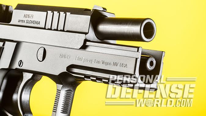 Arex Rex Zero 1S pistol barrel
