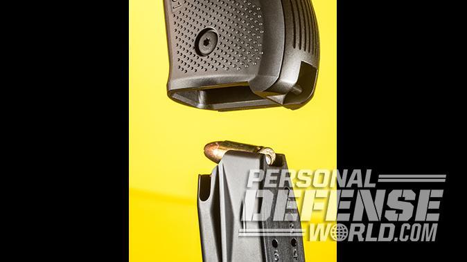 Arex Rex Zero 1S pistol magazine well