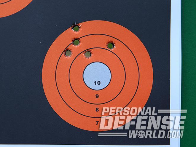 CZ Shadow 2 pistol target