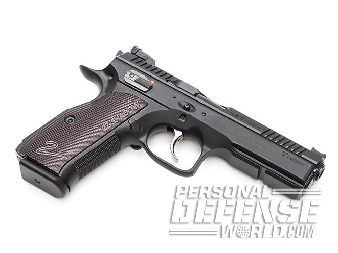CZ Shadow 2 pistol left angle