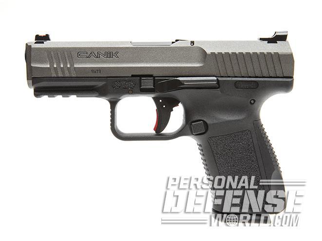 Canik TP9SF Elite pistol left profile