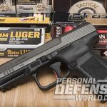 Canik TP9SF Elite pistol ammo