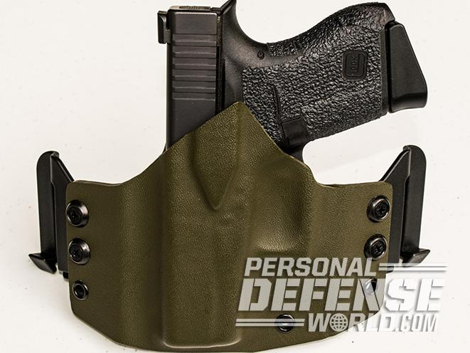 Cascadia Kydex Custom concealment holster Rig