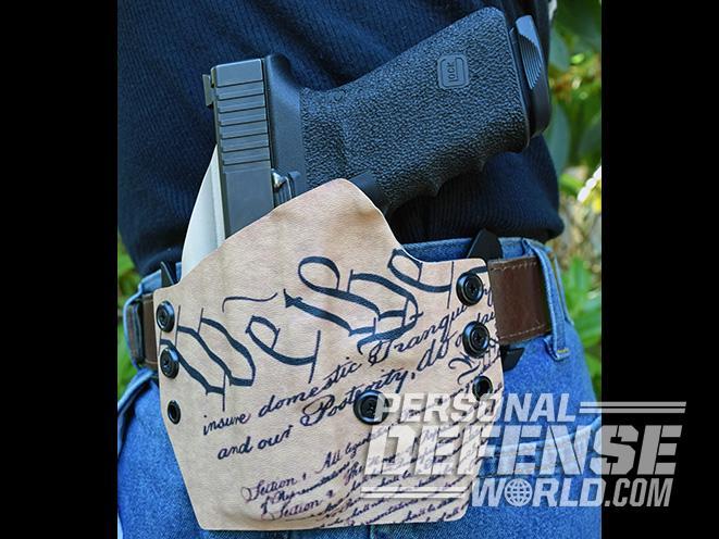 Cascade Kydex concealment holster