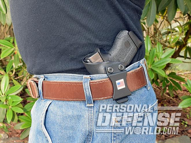 Cascade Kydex concealment holster rig