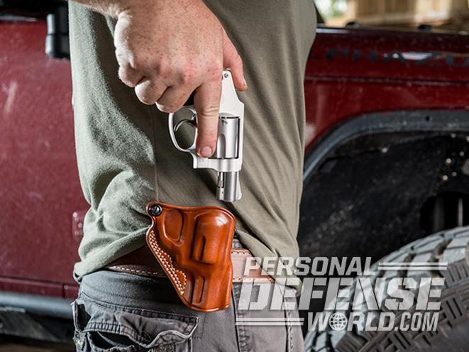 Gallo Speed Paddle model 642 holster draw