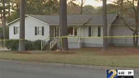 georgia pastor home invasion suspect shooting