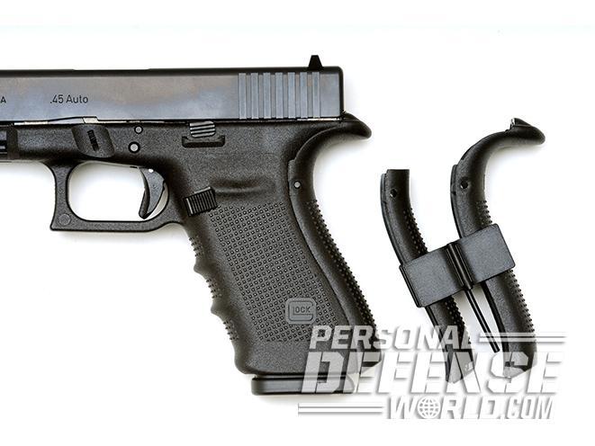 Glock 21 Gen4 backstraps polymer 45