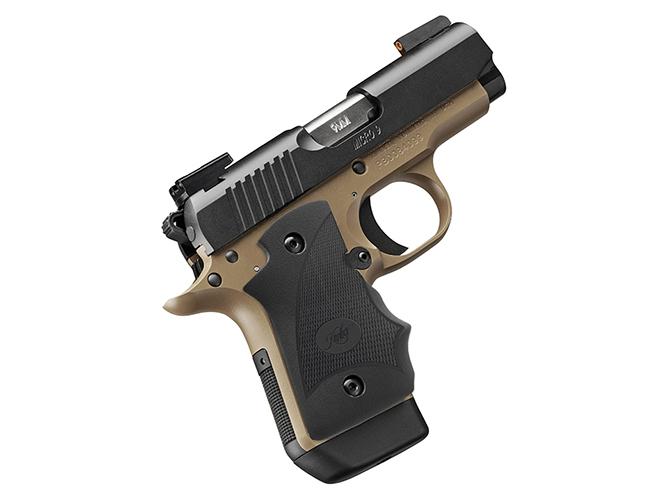 Kimber Micro 9 Desert Night (DN) pistol profile