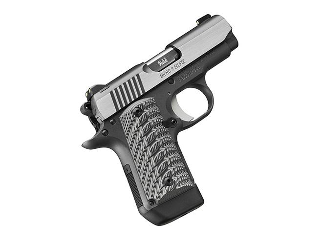 Kimber Micro 9 Eclipse pistol profile