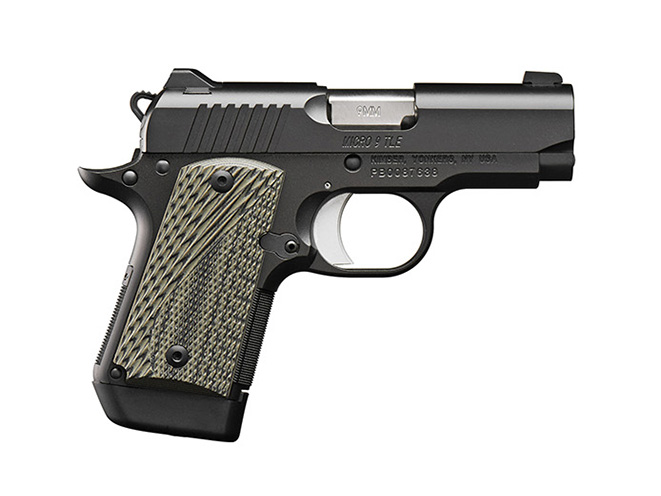 Kimber Micro 9 TLE pistol profile