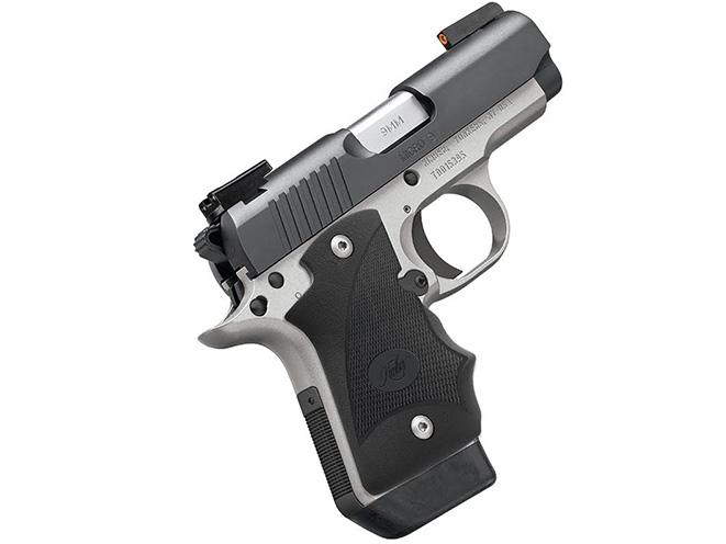 Kimber Micro 9 Two-Tone (DN) pistol profile